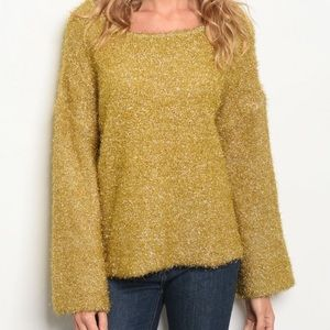 Sparkly Gold Sweater